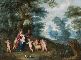 <p></p> Jan Brueghel II e Pieter van Avont