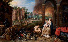 <p></p> Jan Brueghel II e Frans Wouters