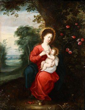 <p></p>Jan Brueghel II and Pieter van Avont